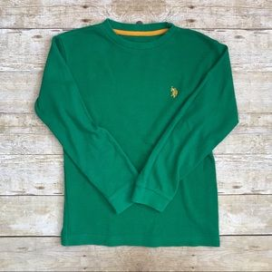 U.S. Polo Assn. Kids Thermal Long Sleeve 10/12